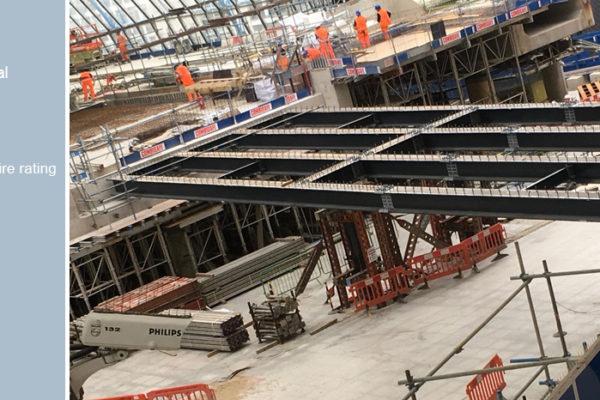 London Waterloo International Terminal footbridge